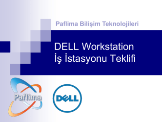 Dell Precision Workstation t5610
