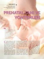 prenatal tanı ve yöntemleri - Turgut Özal Üniversitesi Hastanesi