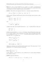 EKO162 İktisatçılar için Matematik II Dersi Final Sınavı Çözümleri