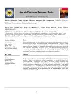Farklı Milletler, Farklı Algılar: Hizmet Alanında Bir Araştırma