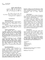 09.05.2014 Tarihli Hutbe : VAKIF BİLİNCİ