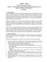 EN0401- Yüksek Isıl Dirence Sahip Yenilikçi İnşaat Yalıtım
