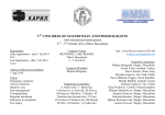 v congress of macedonian anesthesiologists esiologists