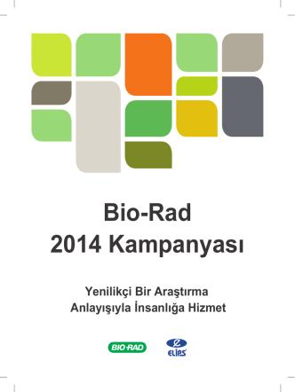Bio-Rad 2014 Kampanyası