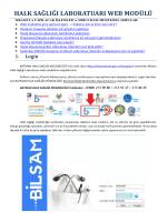 HSM Web Modülü Eğitim Dökümanı