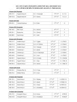 Bölüm Ara Sınav Programı