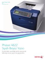Broşür - Phaser 4622