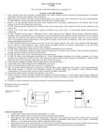 KULLANIM KILAVUZU AT–800 220–240 50 Hz 6.6W
