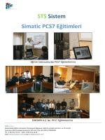 STS Sistem Simatic PCS7 Eğitimleri