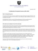 ESK Successes of the Last Academic Year