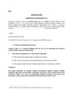 2013 Vekâleten oy kullanma formu