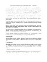 DIGITURK PAKETLERİ ÜYELİK - ÖN BİLGİLENDİRME FORMU VE