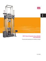 MTS Yüksek Kapasite Servo Hidrolik Test Sistemleri