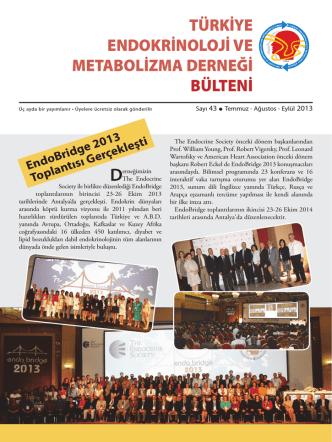 Clinical Endocrinology Update Türk – Amerikan Ortak Toplantısı