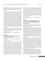 PB-106 Dermoid kistte anormal yükselmifl CA 19-9