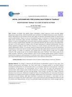 Yegen / E-Journal of Intermedia, 20141(1) 118-132