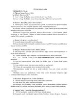ÖSYM SINAVLARI MERKEZİ SINAVLAR 1. Öğrenci Seçme Sınavı