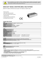 enda eup 150s24l anahtarlamalı güç kaynağı