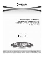 İlköğretim Matematik 8