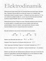 Elektrodinamik