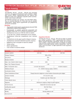 THYRICON Standart Seri (1P3.20 - 1P2.20