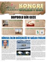 DOPDOLU BİR GECE - Türk Toraks Derneği