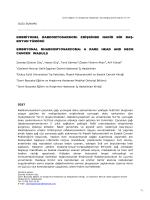 embriyonel rabdomyosarkom - Bozyaka Eğitim ve Araştırma Hastanesi