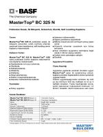MasterTop® BC 325 N