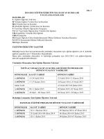 2014-2015 uygulama esasları