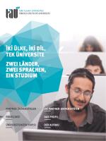 Tanıtım Broşürümüze buradan ulaşabilirsiniz (PDF) - Türk