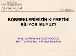 Prof. Dr. Rümeyza KAZANCIOĞLU - Bezmialem Vakıf Üniversitesi