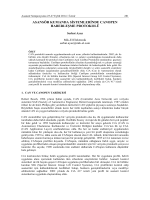 asansör kumanda sistemlerinde canopen haberleşme protokolü