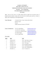 anadolu unıversıty open educatıon faculty program ın englısh