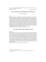 Eğitim Fakültesi Dergisi - Abant İzzet Baysal Üniversitesi