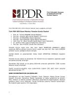 Raporumuzu Lütfen Okuyunuz - Türk Psikolojik Danışma ve