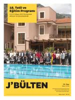 18. Tatil ve Eğitim Programı
