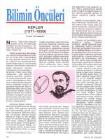 Kepler (1571-1630) Gökbilim