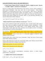 islamda sağlığın önemi hastaların psikolojik durumları