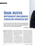 iran – rusya mutabakat anlaşması