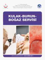 kulak-burun- boğaz servisi - Sakarya Eğitim ve Araştırma Hastanesi
