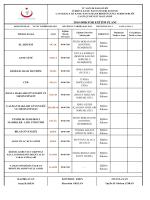 2014 Eğitim Planı - Çan Devlet Hastanesi