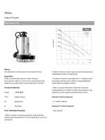 Wilo TP-S Serisi Dalgıç Tip Monofaze Drenaj Pompaları