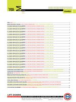Teknik Katalog - Mekisan Asansör