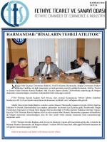 Sayı- 26 - Fethiye Ticaret ve Sanayi Odası