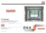 IQ200 TR Brosür - SYSDOOR Otomatik Kapı Sistemleri