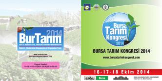 bursa tarım kongresi 2014