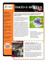 İSKİD e-Bülten 2015 Ocak Sayımız Yayınlandı
