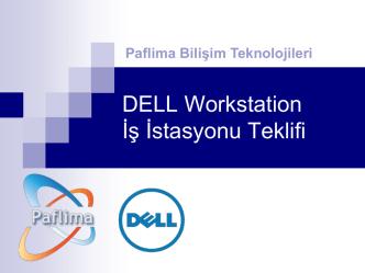 Dell Precision T1700 Workstation İş İstasyonu