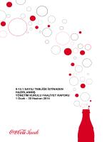 2014 İkinci Çeyrek Faaliyet Raporu