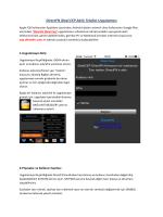 iDeal Cep Kullanım Klavuzu(PDF)